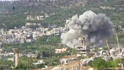 Airstrike_in_Bidama,_west_of_Idlib