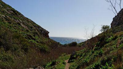 sentiero di cala Pulcino